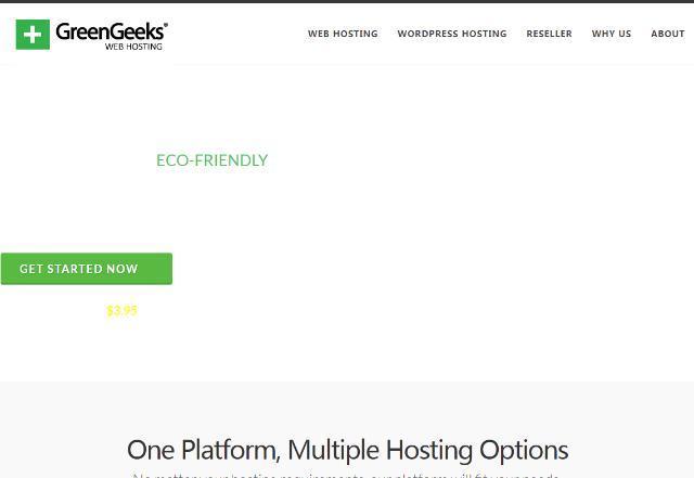羊毛党之家 虚拟主机还这么贵-greengeeks:$2.95/月,不限建站主机,免费送域名,多机房