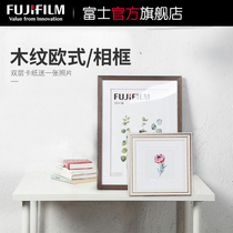Fuji 沖 wall photo frames to pose for multi-size creative art photo posters with framed custom photos