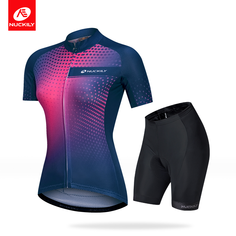 New Short Sleeve Cycling Suit Decoration Body Mountainous Bicycle Cycling Wear Female Motion Bicycle Speciality