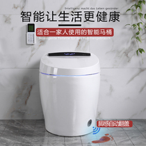 Household Intelligent Toilet 250/350 Electric Fully Automatic Turn-over Ring Foot Touch Flushing Toilet
