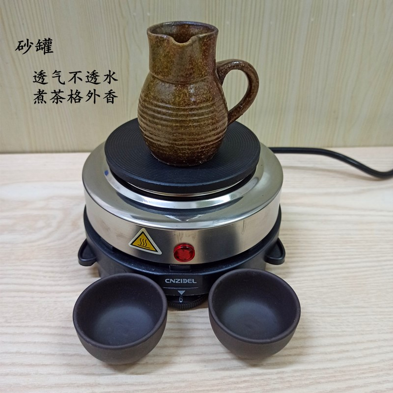 Northwest can tea cans tea maker tea cans Gansu old-fashioned pure hand-made Minnan electric stove to make teapot Shava home