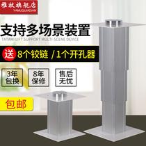 Ya mu tatami lift manual pedal Rice elevator hand home lifting table collapse Rice lift Platform