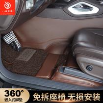 360 aviation soft bag dedicated to Mercedes-Benz gle350 gle450 gls450e300l car full surround foot pad