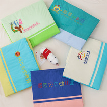 Can be customized kindergarten quilt three sets of baby into the park with core six hosting class children nap bedding set