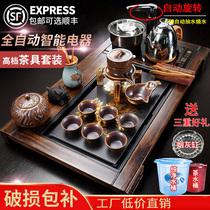 全自动一体茶具套装茶杯办公室会客家用客厅整套茶台茶道茶盘一套