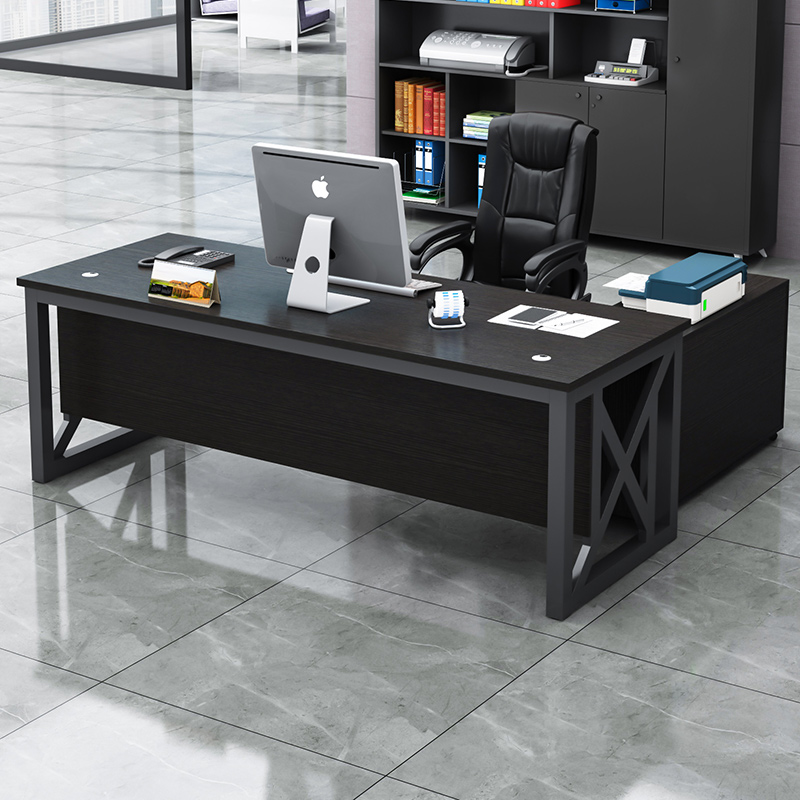 Boss table president table big class single manager table simple modern combination desk chair fashion furniture