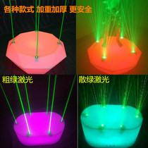 Gogo Bar KTV Disco Laser point stage nightclub beauty DS dance table LED flash light can move stage
