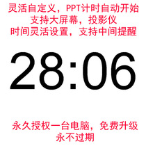 Window Suspension Alert Timer Video Countdown Software PPT and WPS Timing support custom development.
