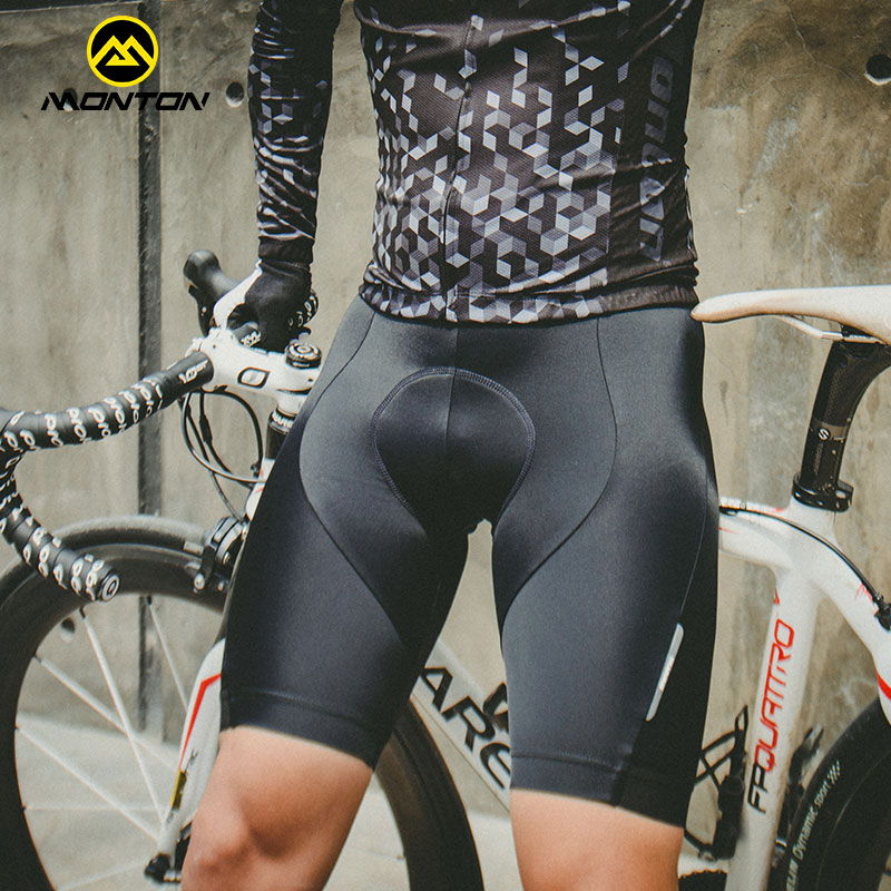 Monton cycling, Spyron Monton Summer Cycling Shorts Men Mountain Bike Cycling Shorts Sponge Double Layer