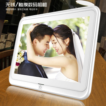 Rosley 10 inch Wireless photos digital electronic album photo frame video Lithium Touch Shunfeng