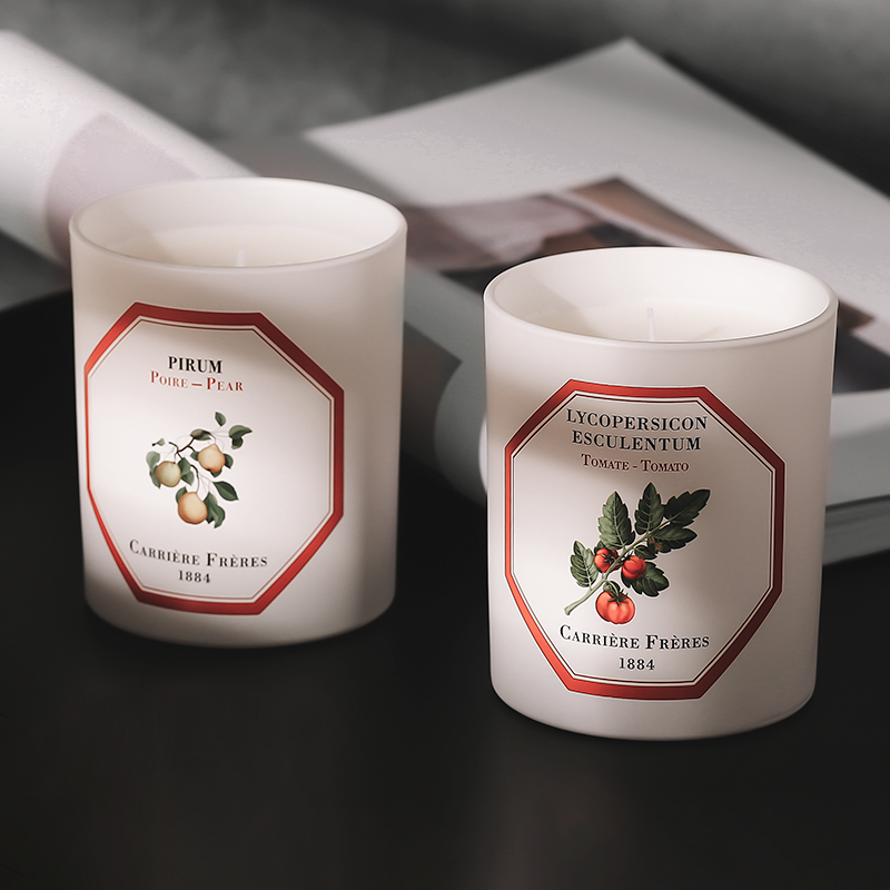 Carriere Freres French botanist Scented candles to sleep in Carriegrave; re Fregrave; Res