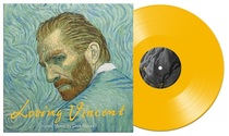 The original sound of the movie! Spot) Black glue to Love Van Gogh loving Vincent Yellow Glue color Glue LP record brand new