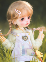 Spot DollZone peach 6 points BJD doll DZ official original genuine class SD doll hand-made doll full set