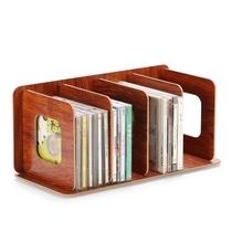片光盘木质收纳展示架光碟影片储物柜创意盒子碟片桌面CD架