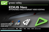 EDIUS Neo 2 5 non-linear video editing software Exclusive support for MTS HD format EDIUS