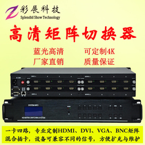 Digital HD HDMI Matrix switcher seamless splicing Controller Network decoding surveillance video processor