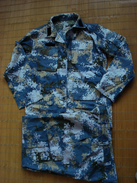 Authentic, marine camouflage training suit, marine summer camouflage, used marine camouflage suit, handed in special