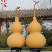 Natural gourd playing small gourd decoration feng shui to protect the safety of townhouse giant large gourd pendant with faucet