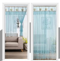 Muji wood curtain lace partition curtain curtain curtain home franchise shop.
