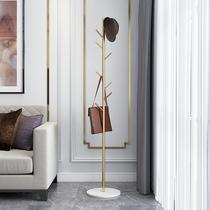 Marbre fer manteau rack étage simple vêtements Chambre Maison de stockage simple moderne cintres