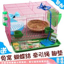 Клетка для кролика королевского размера клетка для кролика голландская свинья клетка для морской свинки Автоматическая очистка навоза склад для домашних животных кроличья лачуга дом для домашнего хозяйства