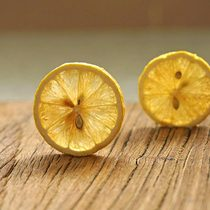 (Buy 5 Get 1)half full taste ) freeze-dried lemon slices a bubble a cup of sweet and sour taste 25g