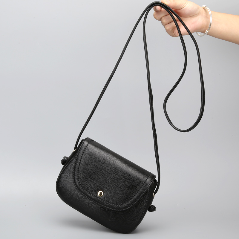 Blue Dance 2018 Summer New Pig Bag Leather Female Bag Ms. Mini Bag Leather Simple Messenger Bag
