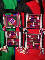 (Multi-specific shooting) Xishuangbanna national characteristic embroidery bag