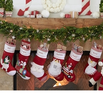 King size luxury gift bags Christmas socks Christmas ornament gift socks Merry Christmas