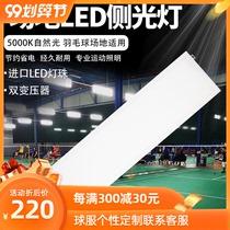 Professional badminton basketball side light LED field anti-glare lamp shadowless 5000K natural light