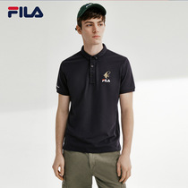 FILA Fila official mens short-sleeved POLO shirt 2020 summer new minimalist sport POLO men