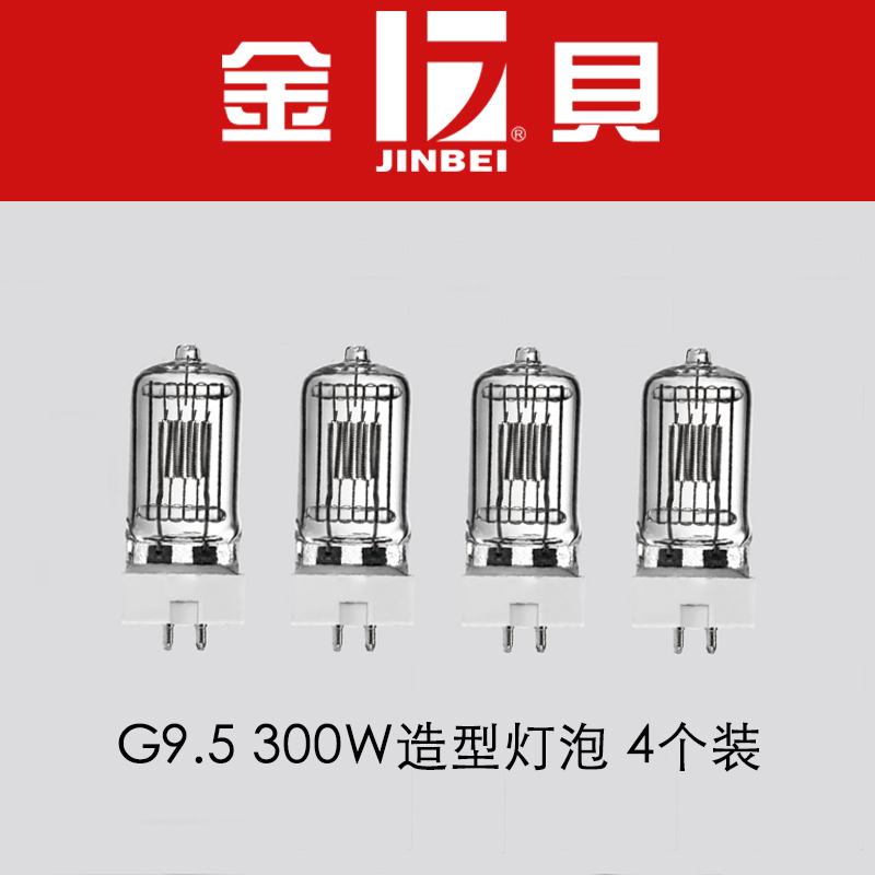 Kimberly 300W 220V G9.5 mould bulb 4 suitable for PilotMSN II series photographic lamps