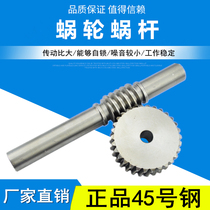 Reducer worm gear worm metal Turbine worm 1 mode 1.5 Mode 2 mode 2.5 mode 3 Mode 4 mode support custom