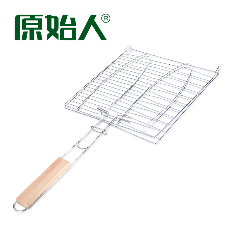 The original people outdoor barbecue accessories with handle grilled fish clips grilled fish net grill hamburger net barbecue tool supplies