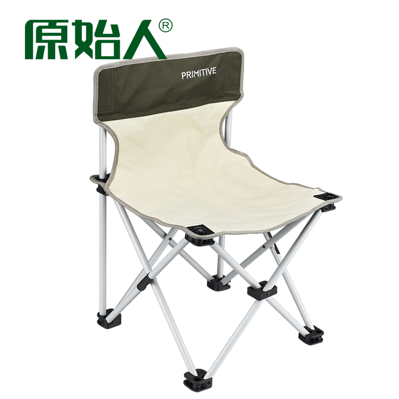 Primitive folding chair Aluminum beach chair Ultralight portable folding chair outdoor fishing chair