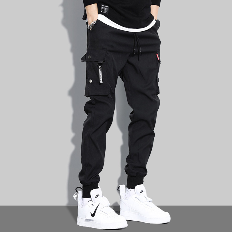 YOA autumn overalls men's trendy brand Yu Wenle Harlan beam foot sports quick-drying casual pants ins super hot pants