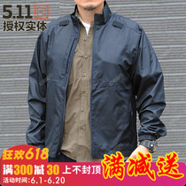 511 foldable jacket/portable windproof jacket 48035 skin windbreaker waterproof folding 5.11 ultra-thin