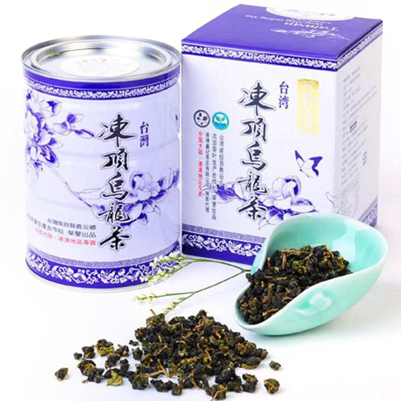 Xin Kee Taiwan Specialties Original Frozen Top Oolong Tea Special Selection Fresh Imported Alpine Tea