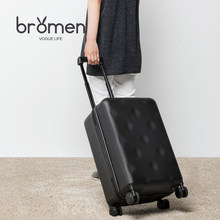 Bremen rose 20-inch suitcase female box trolley case 28 universal wheel male suitcase 22/24/26 inch boarding box