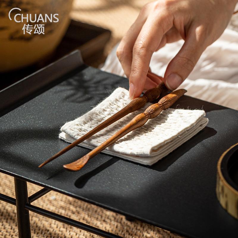 Tea tea needle bamboo tea picketing pot needle tea ceremony six gentleman accessories tea needle tea knife tea cone set home