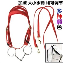 Horse saddle with color size dwarf Mashule reins mouth chewing full set of horse bridle fine riding equestrian Supplies Special Price