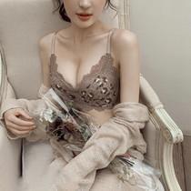 Виктория BAO WEN женское белье собрались маленькие сиськи без косточек на косточках подтяжки груди корректирующий бюстгальтер сексуальный костюм