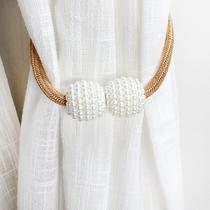 Attachez la corde accessoires de décoration rideau de sangles aimant paire de rideau de la boucle de rideau à la corde la corde de la cravate cravate cravate cravate corde