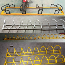 Spiral round cage bicycle parking rack public bicycle placement rack traffic steel pipe parking rack equipment Custom-made