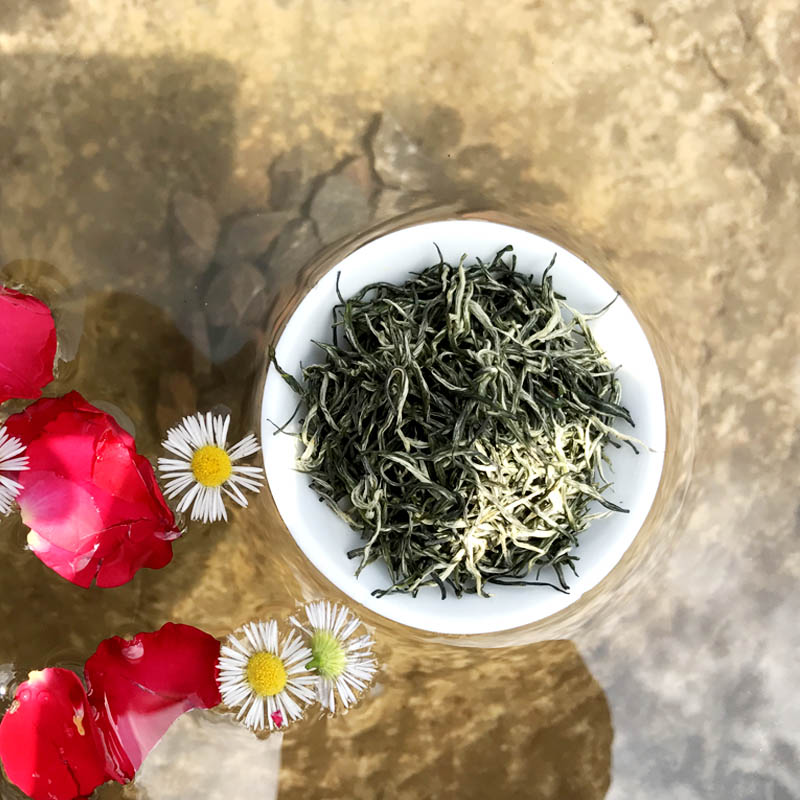 Enshi Selenium-enriched Tea Ma Po Ten Teas 2019 New Tea Baihao Maojian 500g Packaging Gift Box