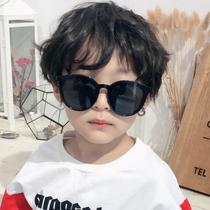 Новые дети ретро солнцезащитные очки летом личности УФ-защита мужчин и женщин солнцезащитные очки прилив дети путешествия зеркало