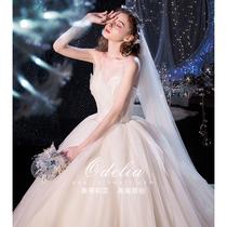 odelia2019 новый лебедь Мори мечта супер фея простое звездное свадебное платье Платье невесты хвост
