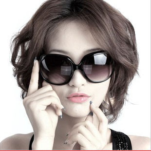 [Ming item discount] crazy poly cheap ten money offer wild hot models large frame sunglasses women