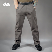 51783 открытый спорт ТАД акула кожа мягкая оболочка брюки мужчины весна осень водонепроницаемый теплый ветрозащитный флис утолщение штурмовые брюки
