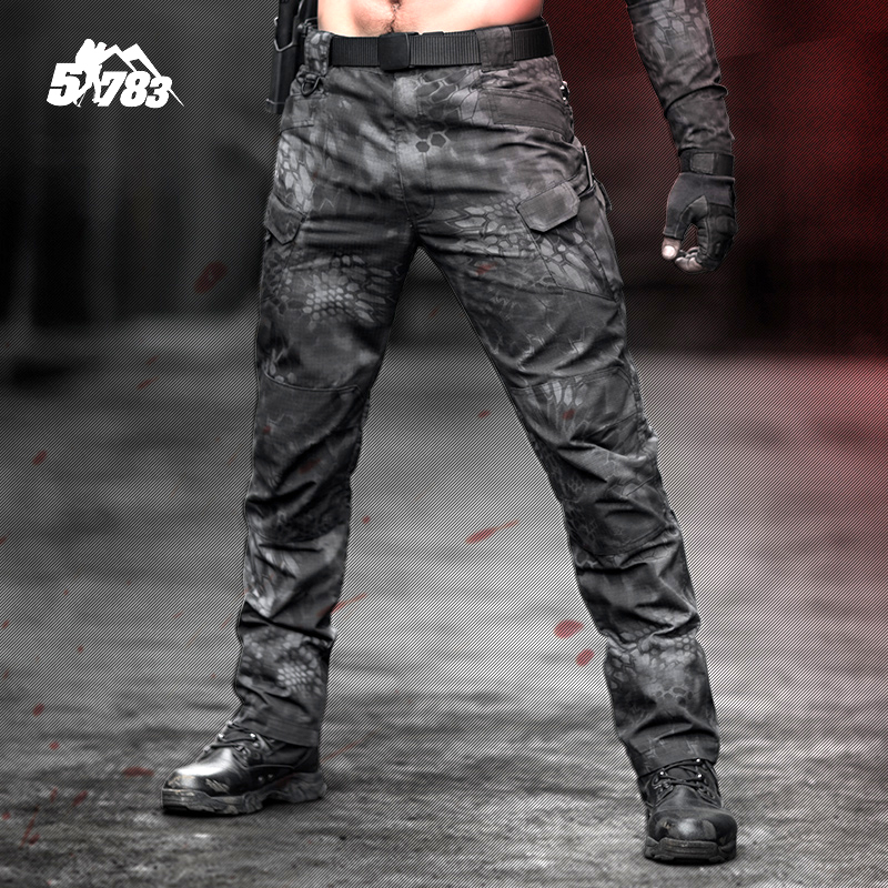 51783 Reckless camouflage tactical pants mens special forces training pants spring and autumn outdoor army fans waterproof workwear pants
